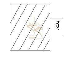 بالکن سه طرف باز(1/2 مساحت آن جزء زیربنا محاسبه می شود.)