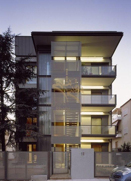نمونه ای از طراحی نمای مدرن