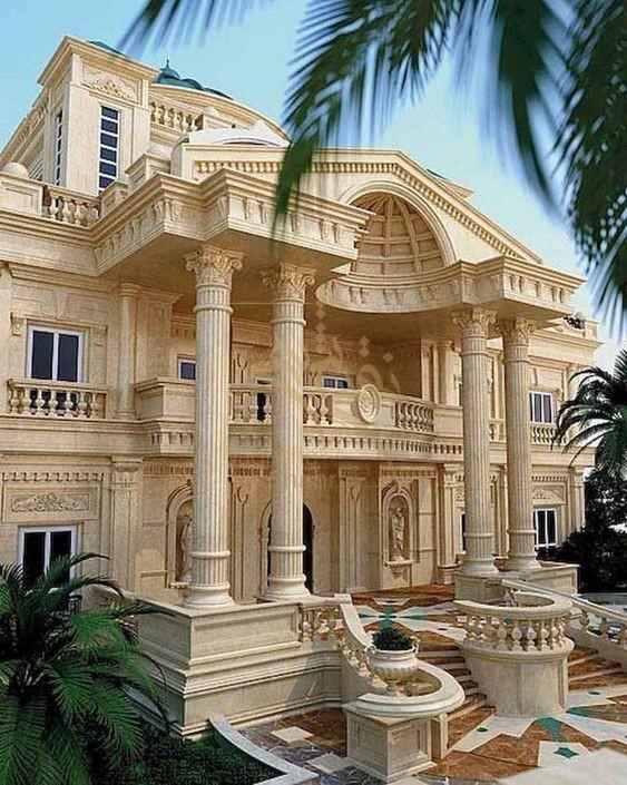 طراحی نمای کلاسیک یا رومی