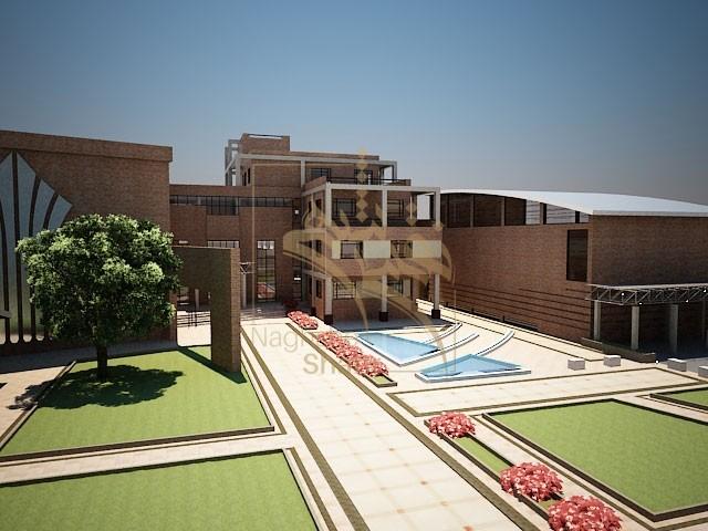 طراحی ساختمان آموزشی