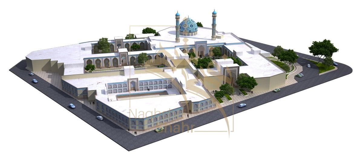 طراحی مسجد و مصلی