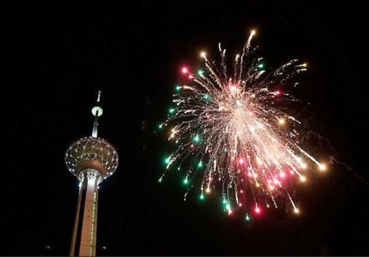 نورافشانی در 22 نقطه شهر تهران