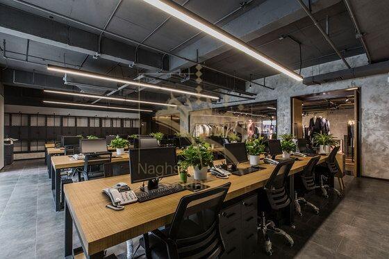نمونه ای از طراحی داخلی اداری