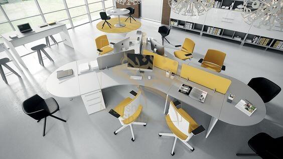 نمونه ای از طراحی اداری
