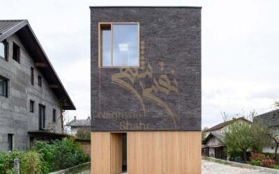 طراحی معماری ساختمان مسکونی به عرض ۶ متر