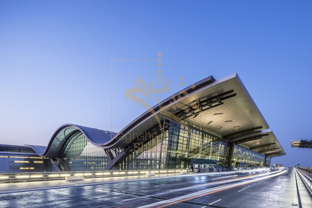 نمونه ای از طراحی فرودگاه